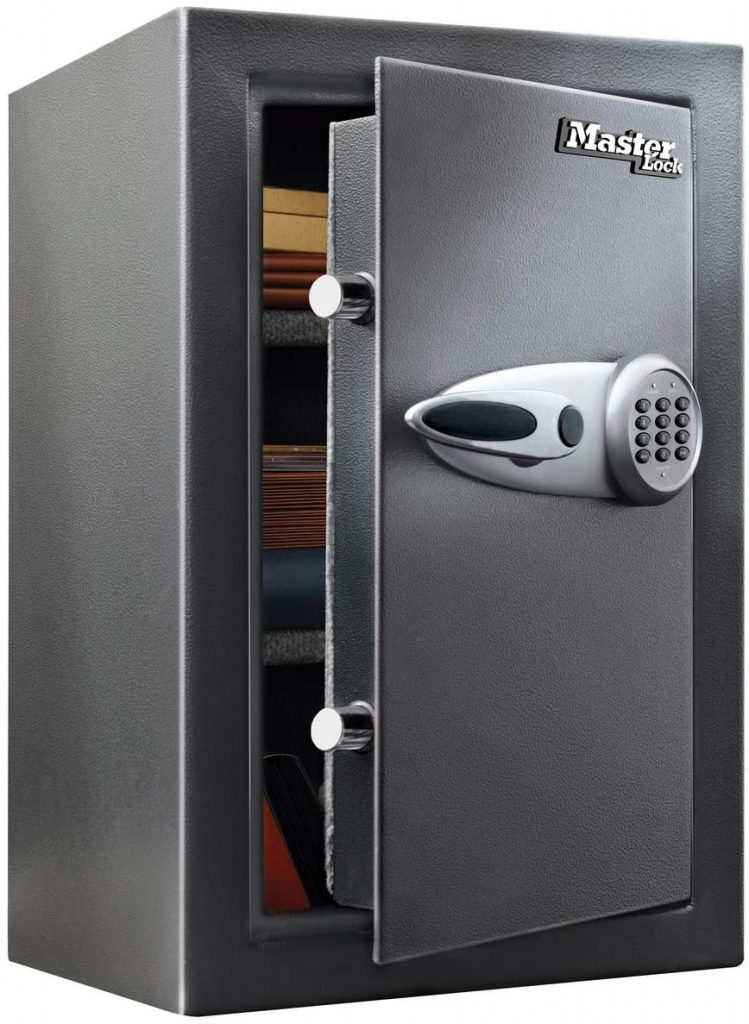 Master Lock T6-331 ML Caja Fuerte de Alta Seguridad 61,7 l [combinación Digital] [L] -Gran Capacidad de almacenaje para Guardar artículos valiosos
